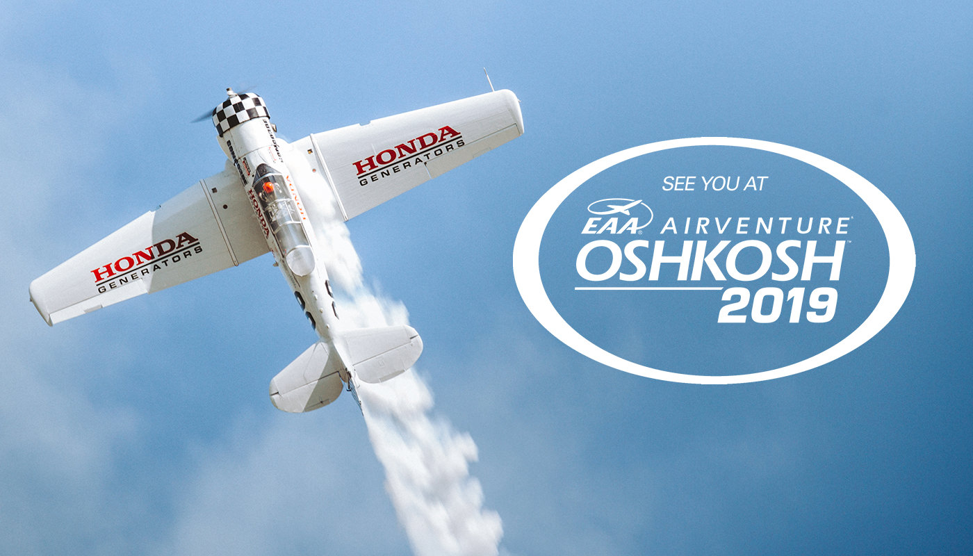 Infinite Flight at Oshkosh 2019