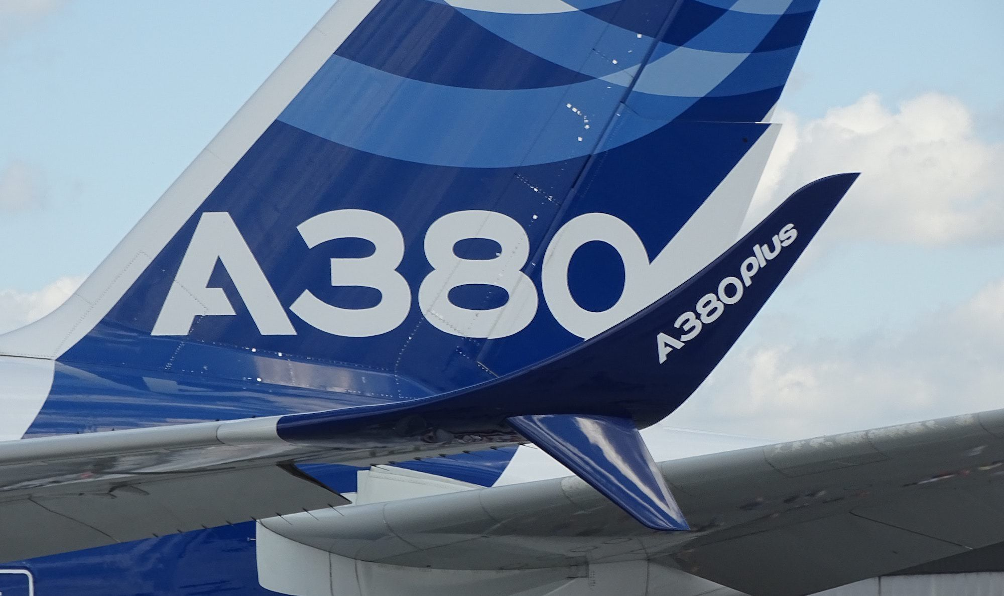 Airbus A380 in House Livery